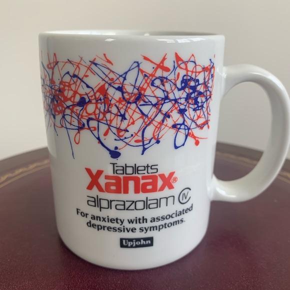 Vintage Other - Rare Vintage Xanax/Alprazolam Coffee Mug